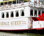 The Paddlewheeler Creole Queen in New Orleans