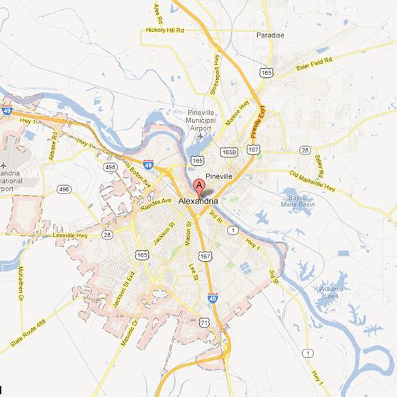 Free Louisiana Travel Brochures TourLouisianacom - Louisiana map alexandria