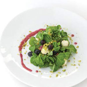 Goat Cheese and Blueberry Salad