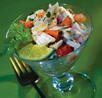 Louisiana Crabmeat Ceviche